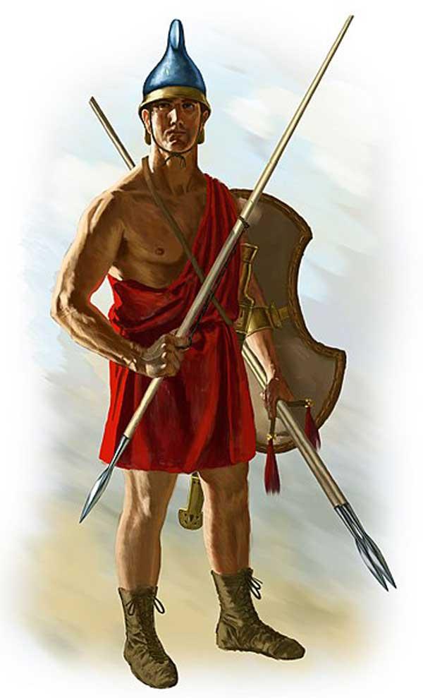 Les Agrianes sont un rude peuple montagnard