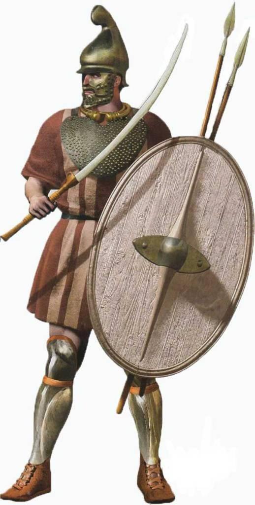 Un guerrier Thrace par Christos Giannopoulos