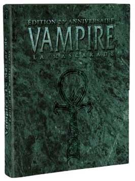 Vampire la Mascarade Edition 20eme anniversaire