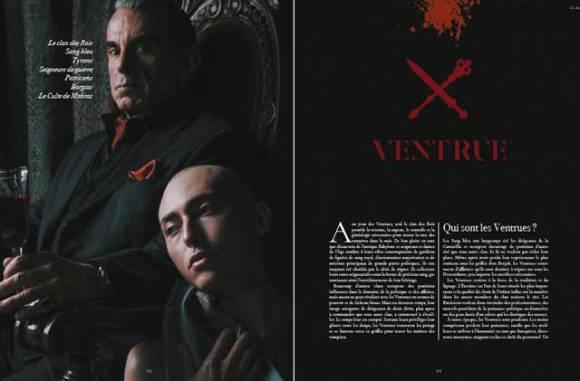 Vampire La Mascarade - le clan Ventrue