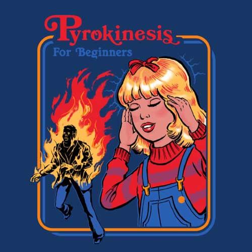 Pyrokinesis - Steven Rhodes