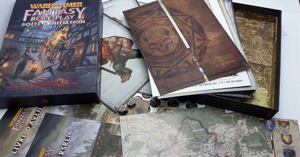 boite Warhammer fantasy