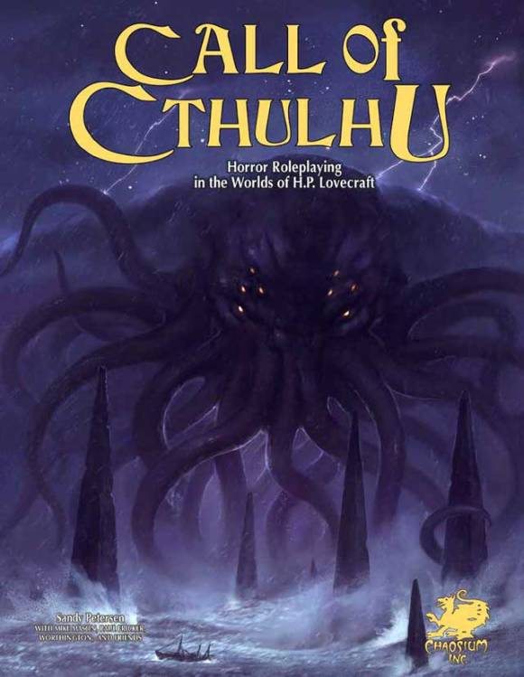 Call of Cthulhu 7ème édition de Chaosium