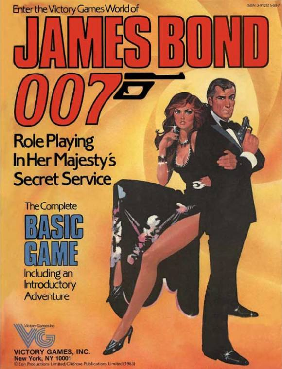 James Bond Victory Games 1983