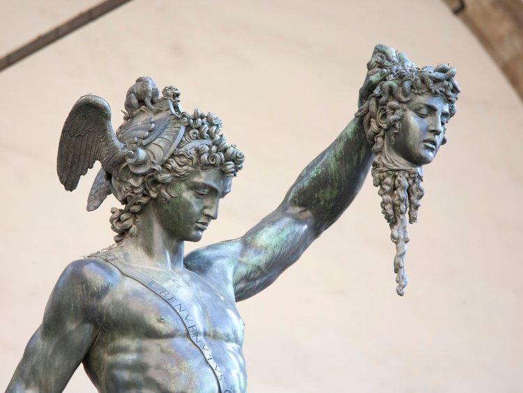 Persée et la tête de Méduse