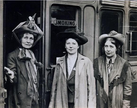 Emmeline Christabel et Sylvia Pankhurst