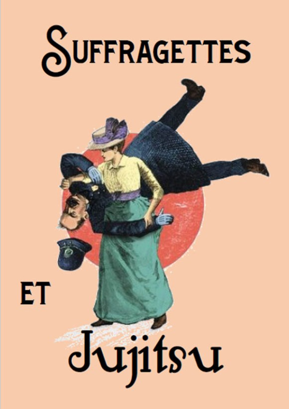 Suffragettes et Jujitsu