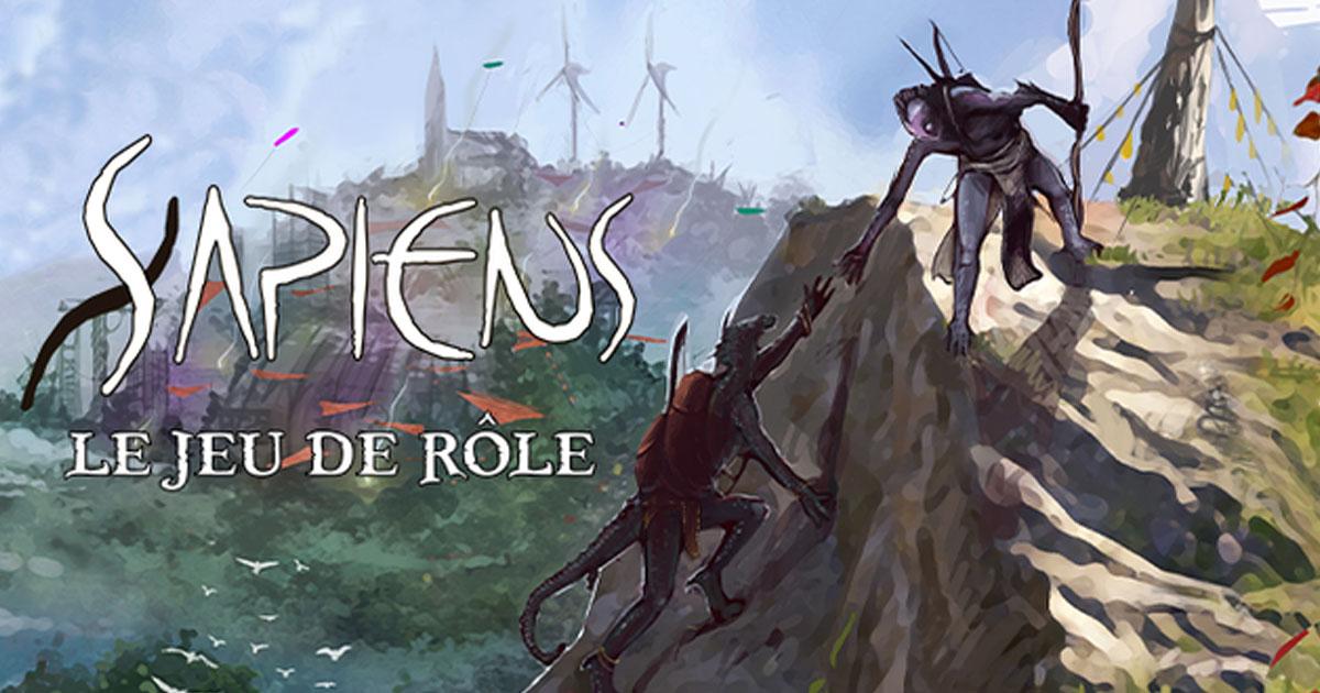 Sapiens Le jeu de rôle de science-fantasy chamanique !