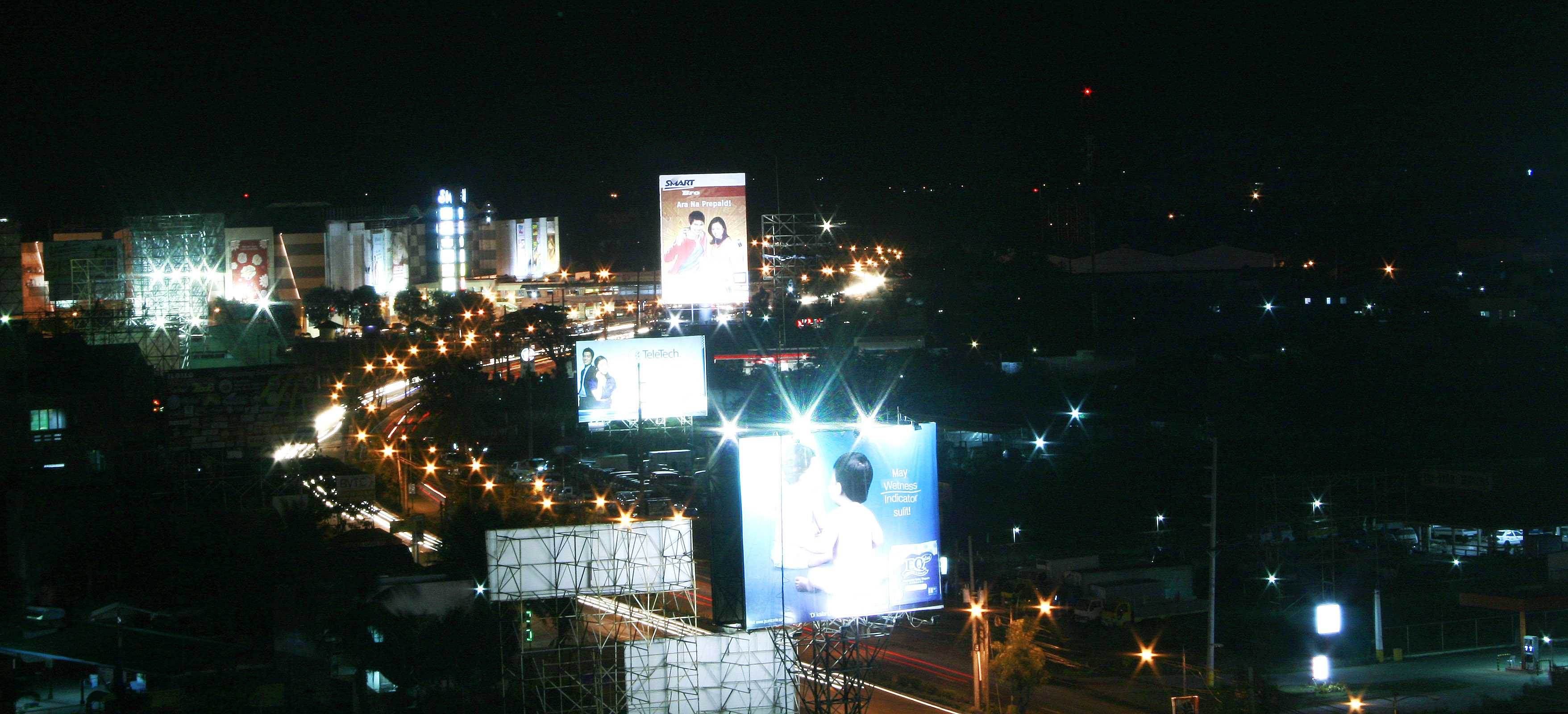 Iloilo City at night. (Photo by Tara Yap)