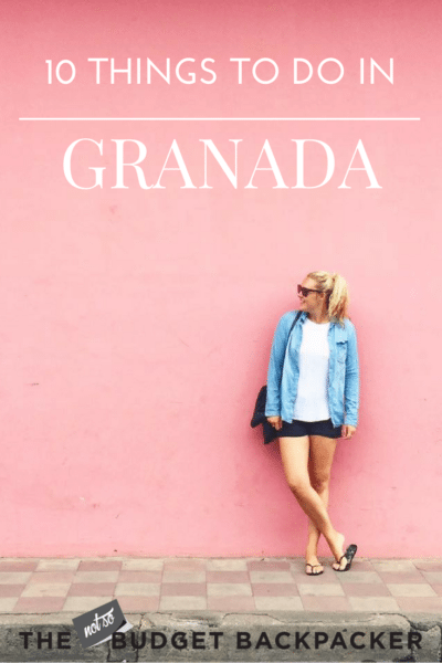 Things to do in Granada - pinterest