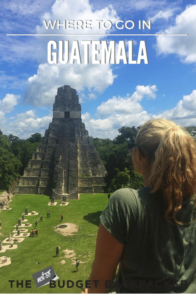 Things to do in Guatemala - pinterest