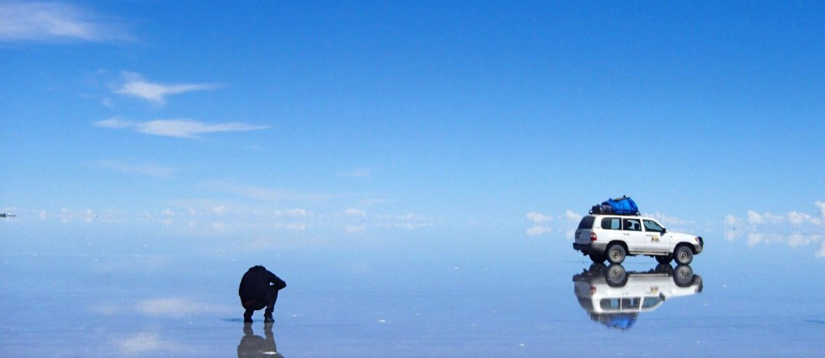 Uyuni salt flats - nailing the reflection