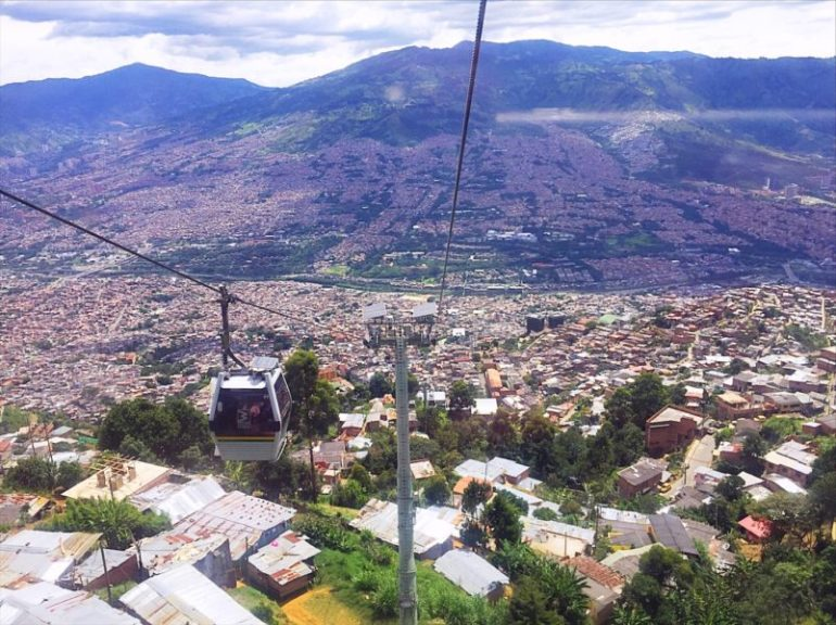 Things to do in Medellin - Cable cars