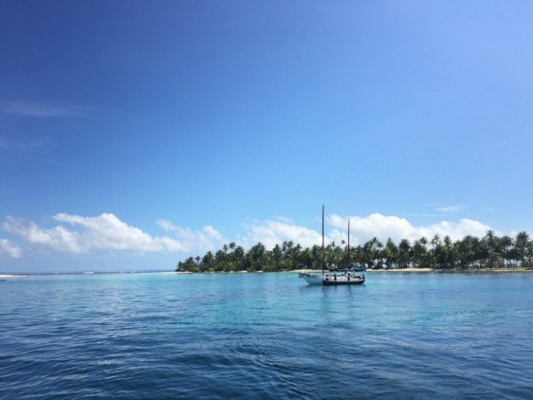Sailing the san blas Islands - boat