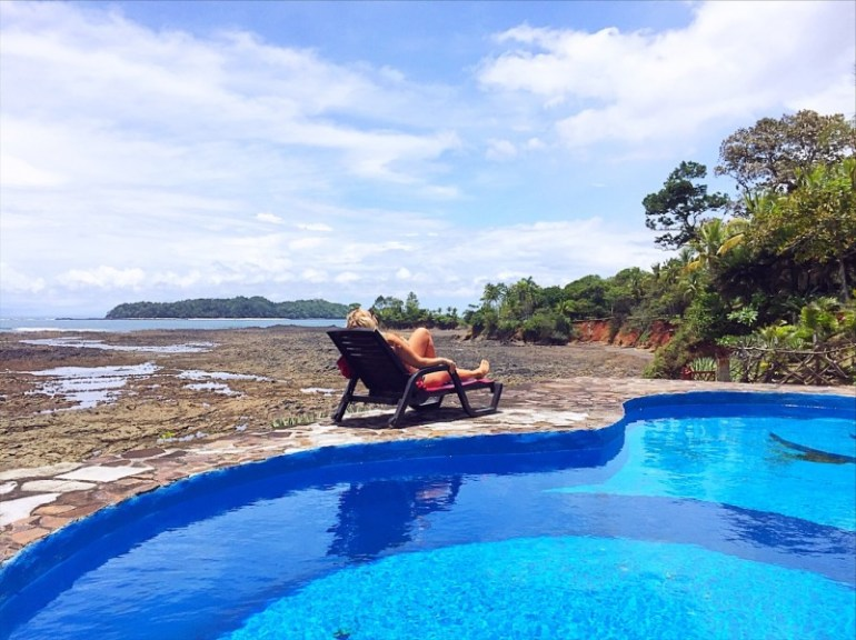Things to do in Santa Catalina Panama - deck chair