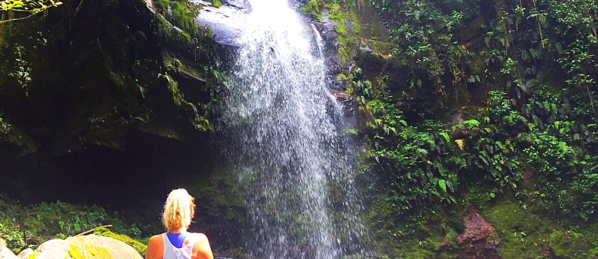 Things to do in Boquete Panama - Waterfall - Boquete to Santa Catalina
