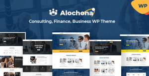 Alochona - Business Consulting WordPress Theme