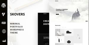 Skovers - Minimal Portfolio WordPress Theme