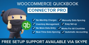 WooCommerce connecteur de QuickBooks Pro
