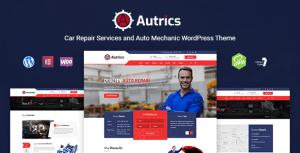 Autrics | Car Repair Services and Auto Mechanic WordPress Theme