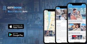 CityBook-annuaire d'annonces REACT Native application mobile