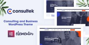Consultek - Consulting Business WordPress Theme