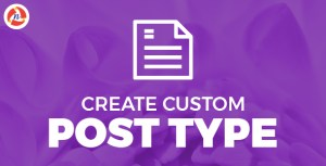 Create Custom Post Type