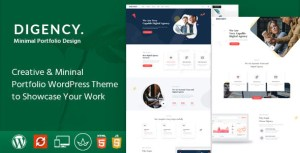 Digency – Multi-Purpose Portfolio WordPress Theme