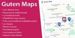 Guten Maps - Google Map Gutenberg bloc