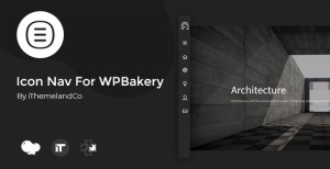 Icon Nav For WPBakery Page Builder (Visual Composer)