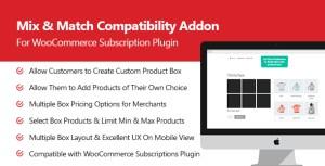 Mix & match Pro Add-on pour abonnement plugin