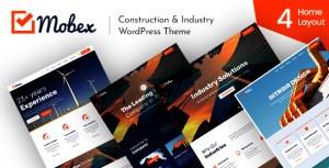 Mobex - Construction & Industry WordPress Theme