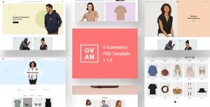 Ovan - E-Commerce PSD Template