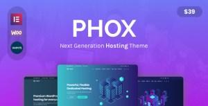Phox - Responsive Hosting WordPress Theme