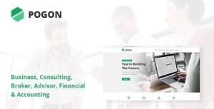 Pogon - Business and Finance Corporate WordPress Theme
