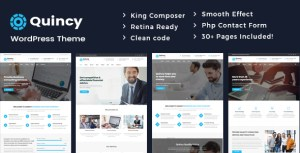 Quincy - Business Consulting WordPress Theme