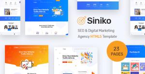 Siniko - SEO & Digital Marketing Agency HTML5 Template