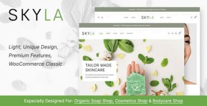 Skyla - Cosmetic WooCommerce Theme
