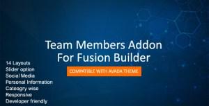 Team Members For Fusion Builder