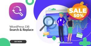 WordPress Database Search & Replace plugin