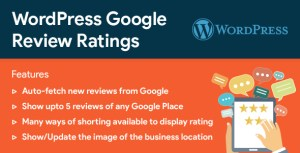 WordPress Google commentaires & Ratings