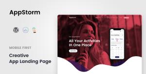 Appstorm - App Startup WordPress Theme