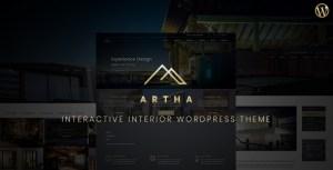Artha Interactive Interior WordPress Theme
