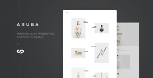 Aruba - Minimal Ajax WordPress Portfolio Theme