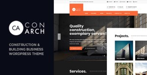 Con Arch - Construction & Building Business WordPress Theme