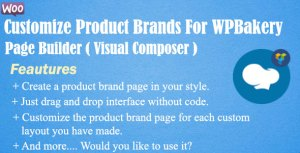 Customize Product Brands For WPBakery Page Builder(Visual Composer)