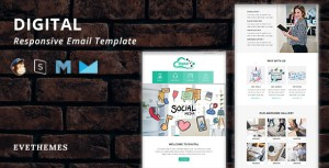 Digital - Responsive Email Template