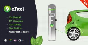 Efuel - Car Rental, EV Charging, Car Towing and Gas Station WordPress Theme