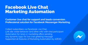 Facebook Live Chat Marketing Automation