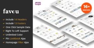 Favou - Minimal and Modern WooCommerce Ajax Theme